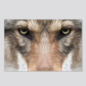 Realistic Wolf Painting Postcards (Package of 8)