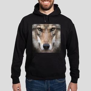 Realistic Wolf Painting Hoodie