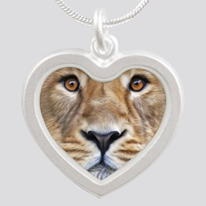 Realistic Lion Painting Necklaces