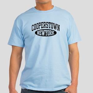Cooperstown New York Light T-Shirt