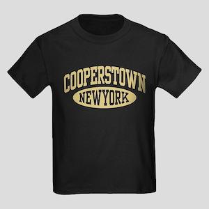 Cooperstown New York Kids Dark T-Shirt