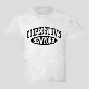Cooperstown New York Kids Light T-Shirt