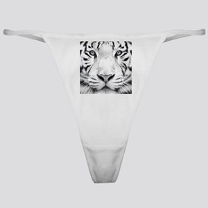 Realistic Tiger Painting Classic Thong