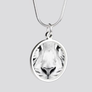 Realistic Tiger Painting Necklaces