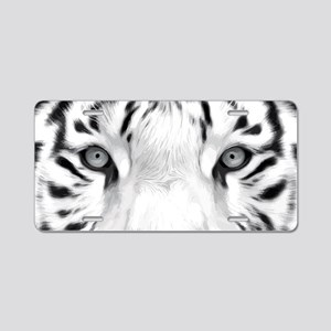 Realistic Tiger Painting Aluminum License Plate