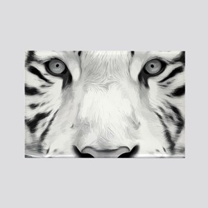 Realistic Tiger Painting Magnets