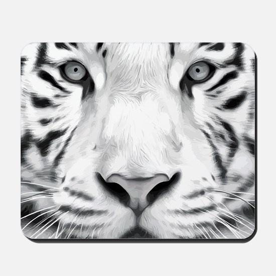 Realistic Tiger Painting Mousepad