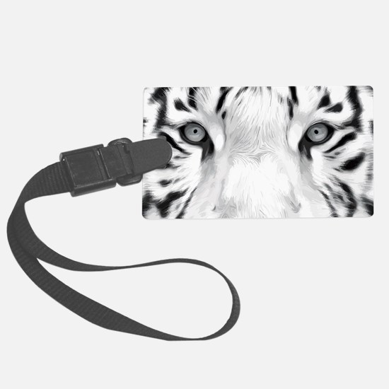 Realistic Tiger Painting Luggage Tag