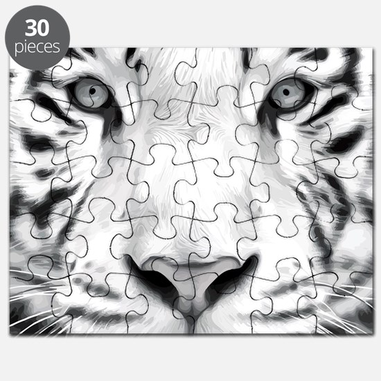 Realistic Tiger Painting Puzzle