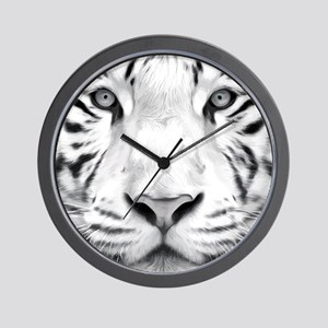 Realistic Tiger Painting Wall Clock