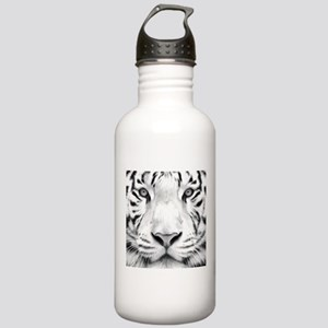 Realistic Tiger Painting Water Bottle