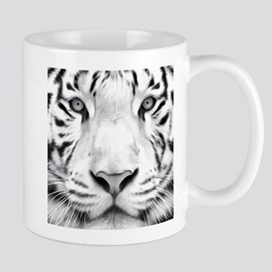 Realistic Tiger Painting Mugs