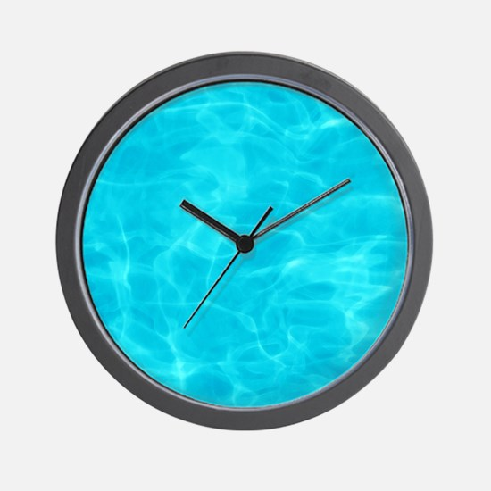 Cool Pool Wall Clock