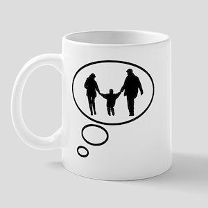 Thinking of Parenting Mug