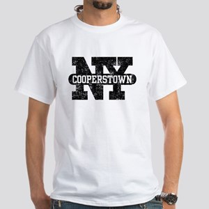 Cooperstown NY White T-Shirt