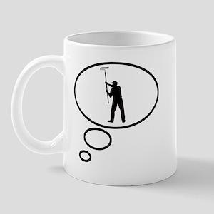 Thinking of Painter Mug