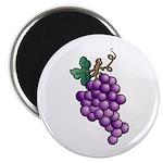 Nature Art Purple Grapes Design Magnet