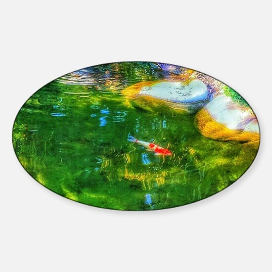 Glowing Reflecting Pond Decal