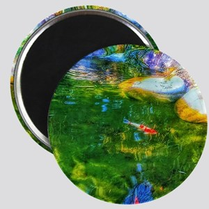 Glowing Reflecting Pond Magnets