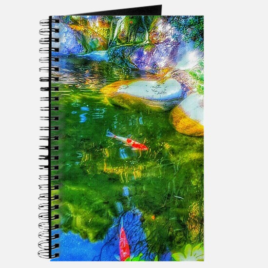 Glowing Reflecting Pond Journal