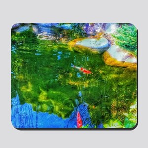 Glowing Reflecting Pond Mousepad