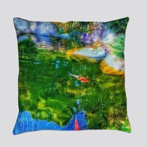 Glowing Reflecting Pond Everyday Pillow