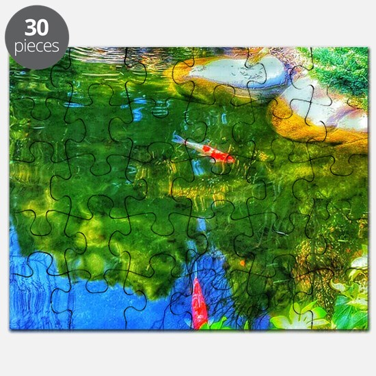 Glowing Reflecting Pond Puzzle