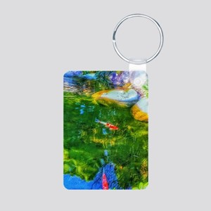 Glowing Reflecting Pond Keychains