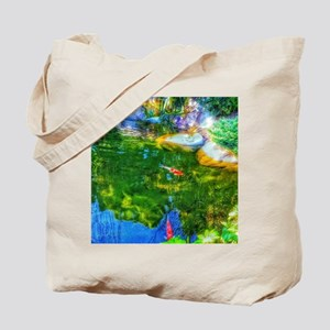 Glowing Reflecting Pond Tote Bag