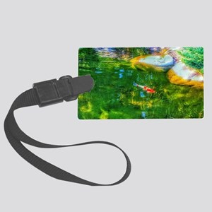 Glowing Reflecting Pond Luggage Tag