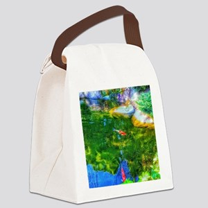 Glowing Reflecting Pond Canvas Lunch Bag