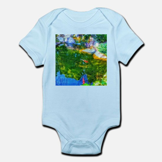 Glowing Reflecting Pond Body Suit