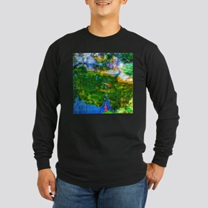 Glowing Reflecting Pond Long Sleeve T-Shirt