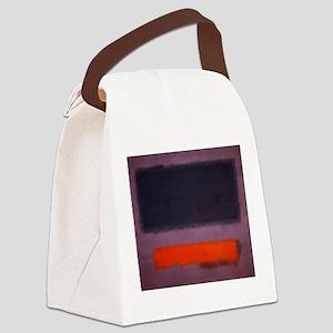 ROTHKO PURPLE AND ORANGE Canvas Lunch Bag
