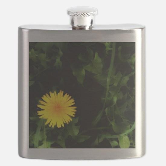 Single Yellow One Flask