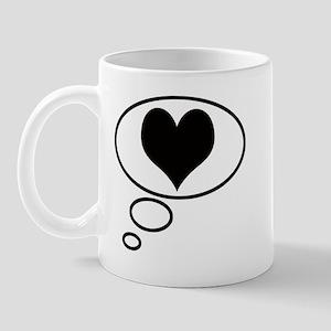 Thinking of Love Mug