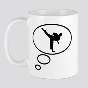 Thinking of Karate Mug