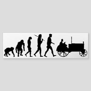 Farmers Evolution Sticker (Bumper)