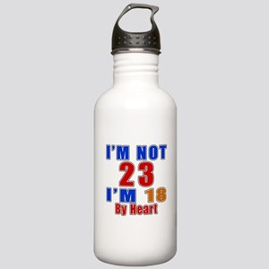 I Am Not 23 Birthday Stainless Water Bottle 1.0L