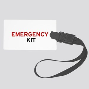 Emergency Kit Large Luggage Tag - I'm Prepared