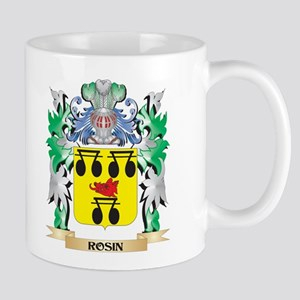 Rosin Coat of Arms - Family Crest Mugs