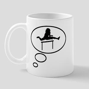 Thinking of Hurdling Mug