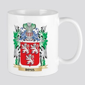 Ross Coat of Arms - Family Crest Mugs
