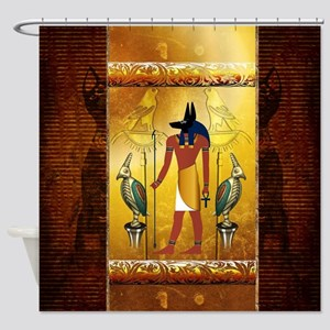 Anubis Shower Curtain