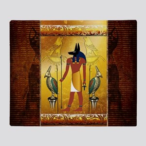 Anubis Throw Blanket