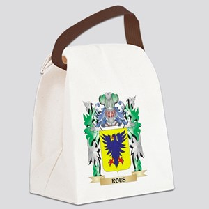 Rous Coat of Arms - Family Crest Canvas Lunch Bag