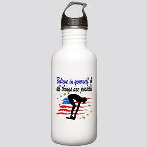 BEST SWIMMER Stainless Water Bottle 1.0L