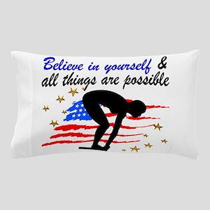 BEST SWIMMER Pillow Case