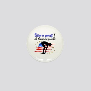 BEST SWIMMER Mini Button