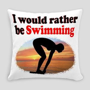 BEST SWIMMER Everyday Pillow